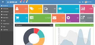 metro lab responsive metro dashboard template free demo