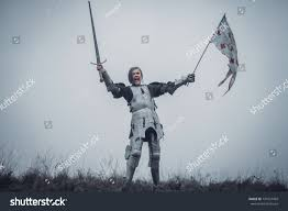 Joan Of Arc Flag Image Joan Arc Jeanne Darc Stock Photo 794127469 Shutterstock