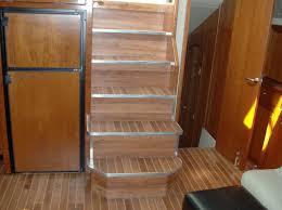 Teak And Holly Laminate Flooring Services Converta Boat International