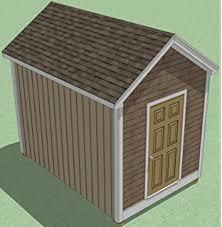 8 u0027 x 12 u0027 gable storage shed project plans design 10812