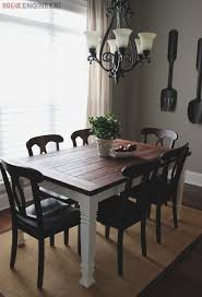 Dining Room Furniture Plans Diy Farmhouse Table Free Plans Rogue Engineer