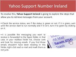 yahoo email junk mail how to receive email when yahoo mail is not able to respond