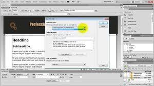tutorial website dreamweaver cs5 how to make a website in dreamweaver amazing tutorial youtube