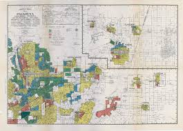 A New Map Of Jewish by Segregation In The City Of Angels A 1939 Map Of Housing