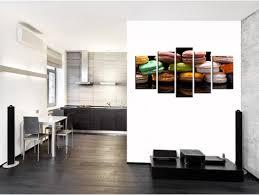toile deco cuisine tableau cuisine déco toile plexi et aluminium macaron coloré