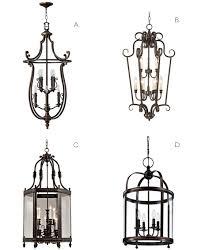 Lantern Pendant Light Fixture Lighting Ideas For A Spanish Style Home Lamps Plus