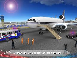 police airplane prison flight android apps on google play