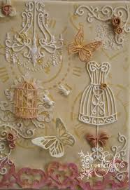 shabby chic cookie canvas cakecentral com