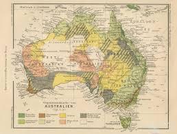 atlas map of australia vegetation map of australia 1906 queensland historical atlas
