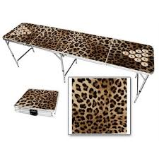 Beer Pong Table Length by Cheetah Beer Pong Table 2x8 8ft Aluminum All Weather Lightweight