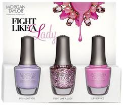 morgan taylor fight like a lady breast cancer collection 2014