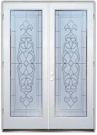 Glass Door Etching Designs by Faux Bevels 2d Etched Glass Doors Victorian Style