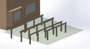 Cantilevered Deck by Deck 2 Design With Solidworks U2013 Kyletwynam Com