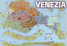 Map Italy by The World In Postcards Sabine U0027s Blog Venice Map Italy