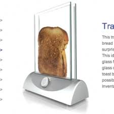 See Theough Toaster Transparent Toaster 345 Notcot Org