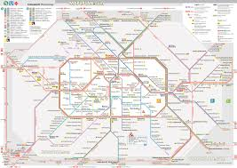 Metro Map Tokyo Pdf by Berlin Maps Top Tourist Attractions Free Printable City