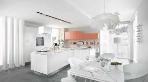 cuisine équipée blanc laqué cuisine blanc laqué et bois meilleur de cuisine équipée design et