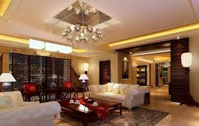 interior decor of a living room using brown theme hottest home design