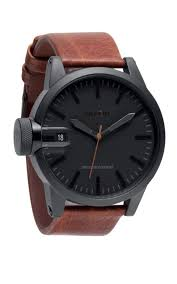 brown collection nixon x barneys 2010 collection matte black brown leather