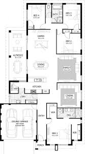 floor plan of a bungalow house 4 bedroom bungalow house plans in nigeria tolet insider
