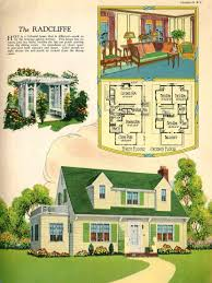 the radcliffe u0027 floor plan 1926 graphicdesign vintage