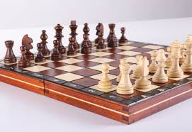 Wooden Chess Set by 21