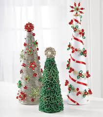 how to make a jeweled cone tree joann