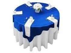 royal blue and lime green wedding reception decor centerpieces