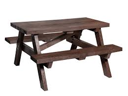 recycled plastic picnic tables recycled plastic picnic table plaswood group