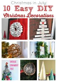 christmas in july 10 easy diy christmas decorations two purple