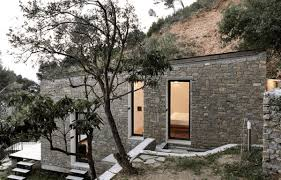 homes built into hillside this secret tiny house is built into an actual hillside