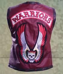 Warriors Halloween Costume Warriors Men Maroon Biker Leather Vest Sale Http Www