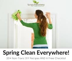 spring clean non toxic spring cleaning 20 diy recipes plus a free checklist