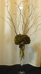 branches for centerpieces hydrangea and branches centerpiece a in bloom event