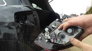 how to replace tail light bulb how to replace rear taillight brake light bulb turn signal bulb