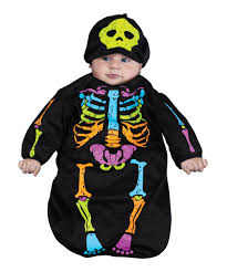 Boys Skeleton Halloween Costume Skeleton Bunting Baby Halloween Costume Kids Costumes
