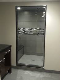 Single Frameless Shower Door Single Swing Frameless Shower Doors Creative Mirror Shower