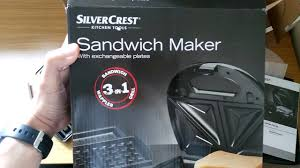 3 In 1 Kitchen by Unboxing Silvercrest 3 In 1 Sandwich Toaster Ssmw 750 B2 From Lidl
