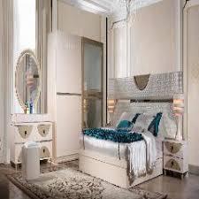 low price with king size bed 4doors wardrobe dresser bedroom