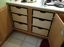 Kitchen Cabinet Shelf Hardware by Rolling Shelves For Kitchen Cabinets Voluptuo Us