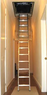 heavy duty residential attic ladders better roof storage