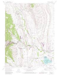 Reston Virginia Map by Bobcat Ridge Natural Area Colorado