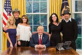 sarah palin kid rock and ted nugent at trump white house