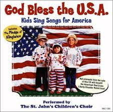 kids usa god bless the u s a kids sing songs for america american