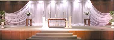 traditional christian wedding stage decoration trendy mods