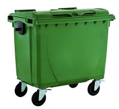 1100l recycling for shipping and packaging trash can garbage