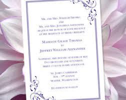 Regency Wedding Invitations Wedding Invitation Templates U0027floral Petals U0027 Coral