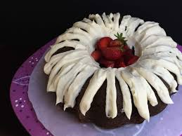 let us eat cake chocolate bundt cake with cream cheese frosting