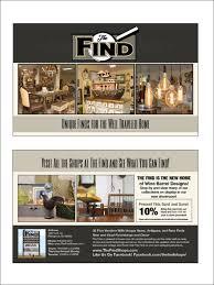 the find postcard trade show handout raven media website design