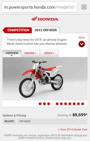 price for a new crf 450 moto related motocross forums